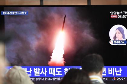 Lanzamiento misiles