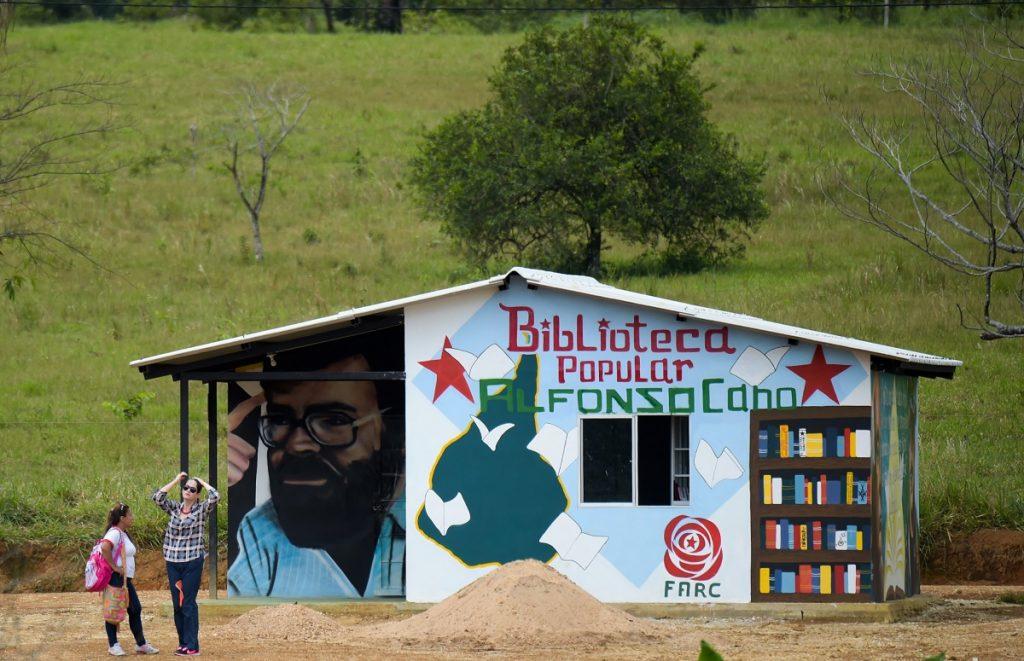Biblioteca en un ETCR
