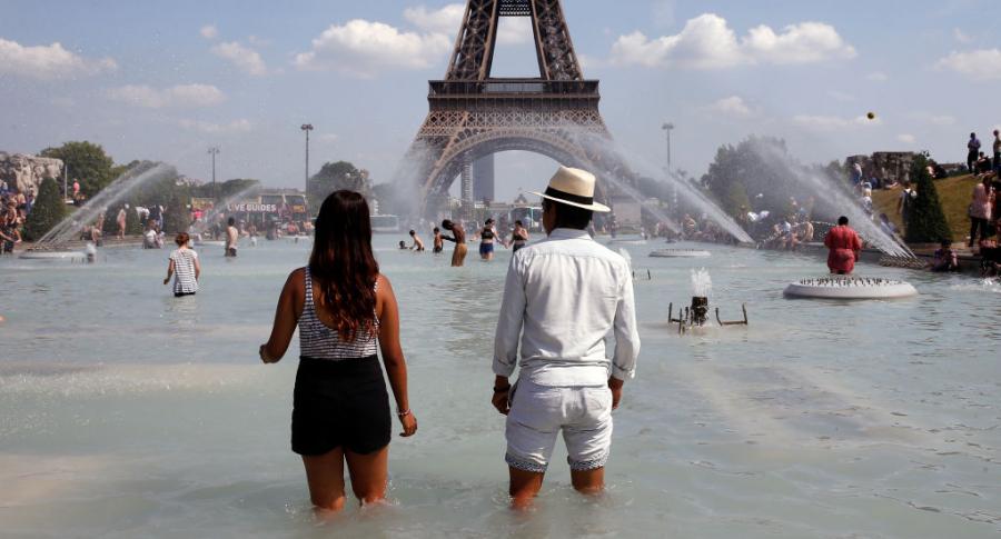 Ola de calor en París
