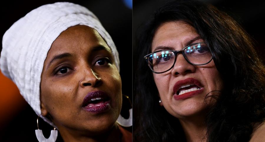Ilhan Abdullahi Omar y Rashida Tlaib