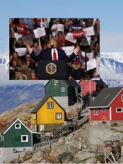 Dicen que a Trump le interesaría comprar Groenlandia y así le contestaron desde la isla