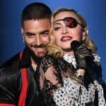 Maluma y Madonna, cantantes.