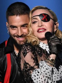"""""""Te amo, señorita loca"""": Maluma, a Madonna por su cumpleaños 61"""