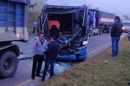 Accidente en Boyacá