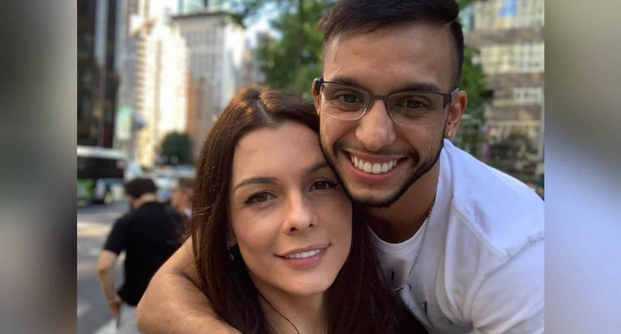 Danna Sultana y Esteban Landrau