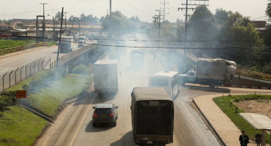 Vehículos que afectan calidad del aire