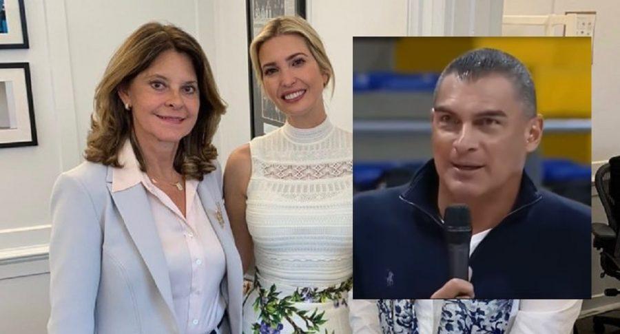 Marta Lucía Ramírez, Ivanka Trump y Faryd Mondragón