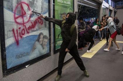 Protestas feministas en México