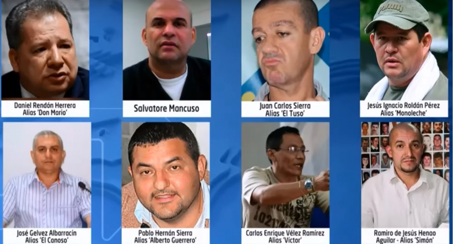 Paramilitares citados a indagatoria de Uribe