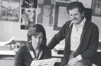 Gloria Pachón y Luis Carlos Galán