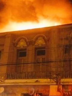 Voraz incendio causó revuelo en la madrugada de este domingo en Valparaíso, Chile