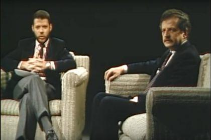 Juan Manuel Santos y Luis Carlos Galán