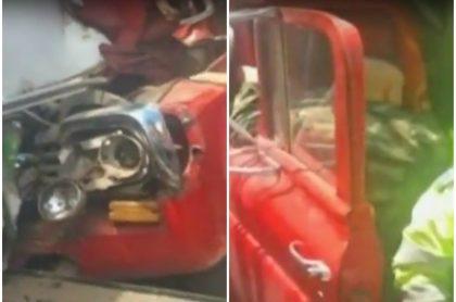 Accidente en Ciudad Bolívar