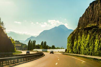 Autopista Europa Alpes franceses