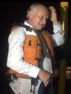 Rescataron a científico Manuel Elkin Patarroyo, que estaba a la deriva en río Amazonas