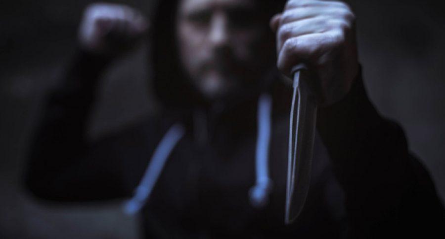 Ladrón con cuchillo