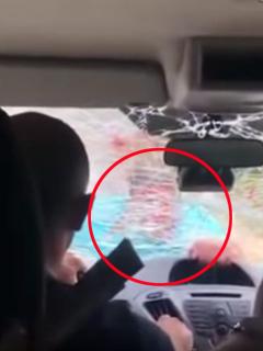 [Video] Energúmeno empresario atacó a turistas porque se negaron a comer en su local