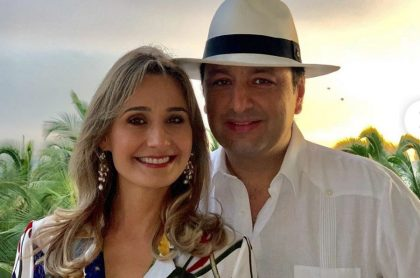 Inés María Zabaraín y Jorge Alfredo Vargas, presentadores.