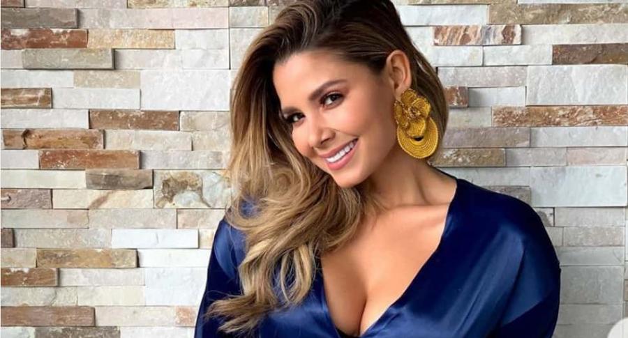 Melissa Martínez, presentadora.