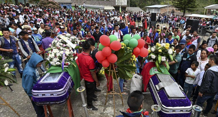 Indígenas asesinados en el Cauca