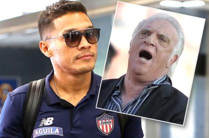 Teófilo Gutiérrez y Alfio 'Coco' Basile