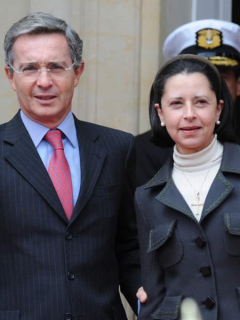 Uribe y Lina Moreno
