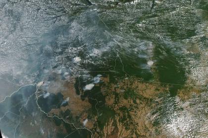Incendio en la Amazonía