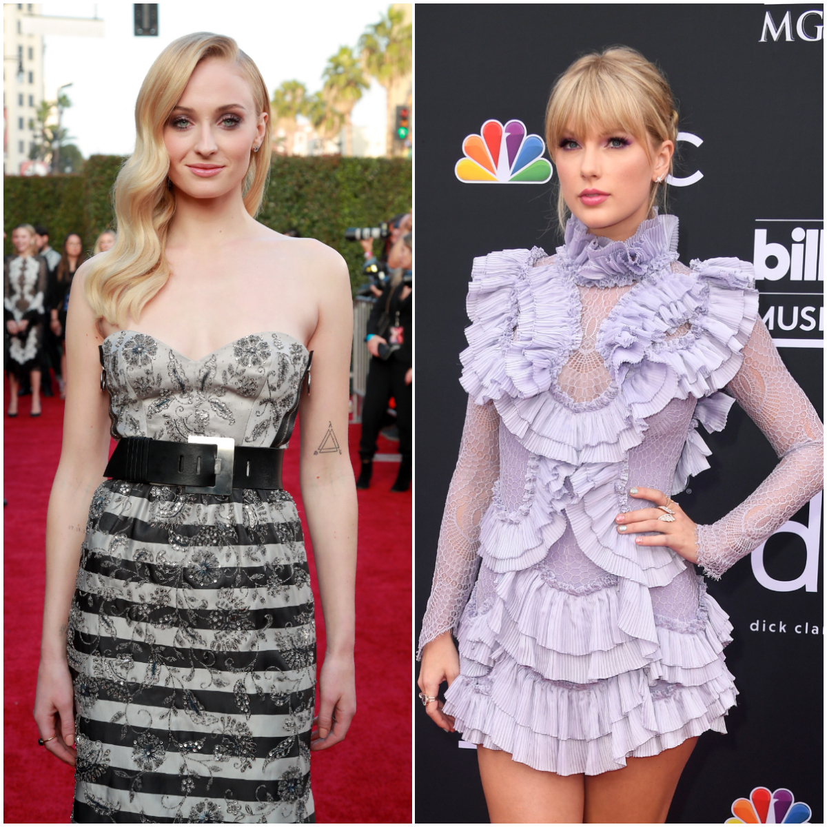 Sophie Turner y Taylor Swift