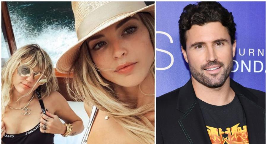 Miley Cyrus y Kaitlynn Carter / Brody Jenner