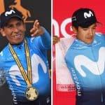 Nairo Quintana y Richard Carapaz
