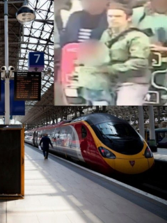 Hasta en Inglaterra los colados son alzados: este le dio puñetazo a empleada ferroviaria