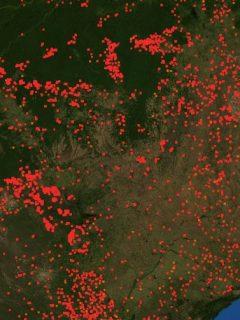 ¿Colombia se podría afectar por el incontrolable incendio en el Amazonas?