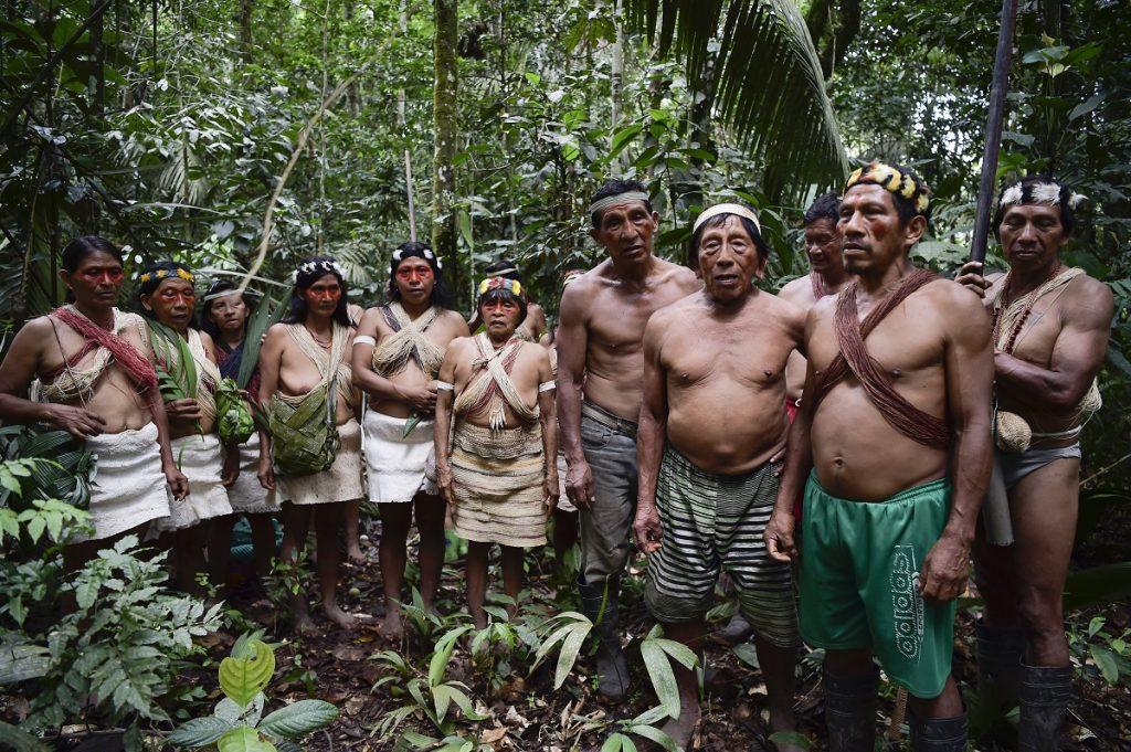 Indígenas Waorani