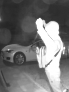 [Video] Ladrones utilizan audaz truco para robarse un carro Tesla en tiempo récord