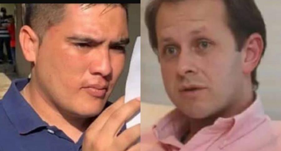 Juan Valderrama y Andrés Felipe Arias