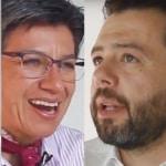 Hollman Morris, Claudia López, Carlos Galán y Miguel Uribe