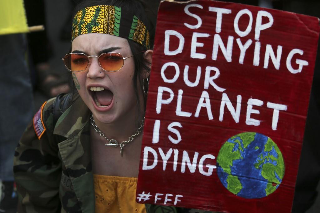 Protesta en Londres Amazonia