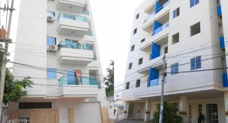 Edificios Villa May y Portal Blas de Lezo II
