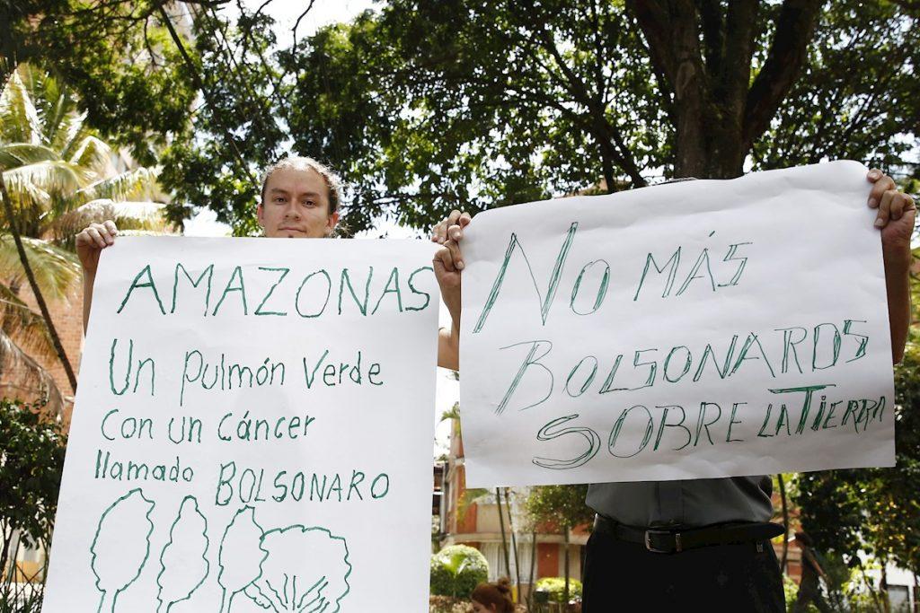 Protesta en Medellín-1