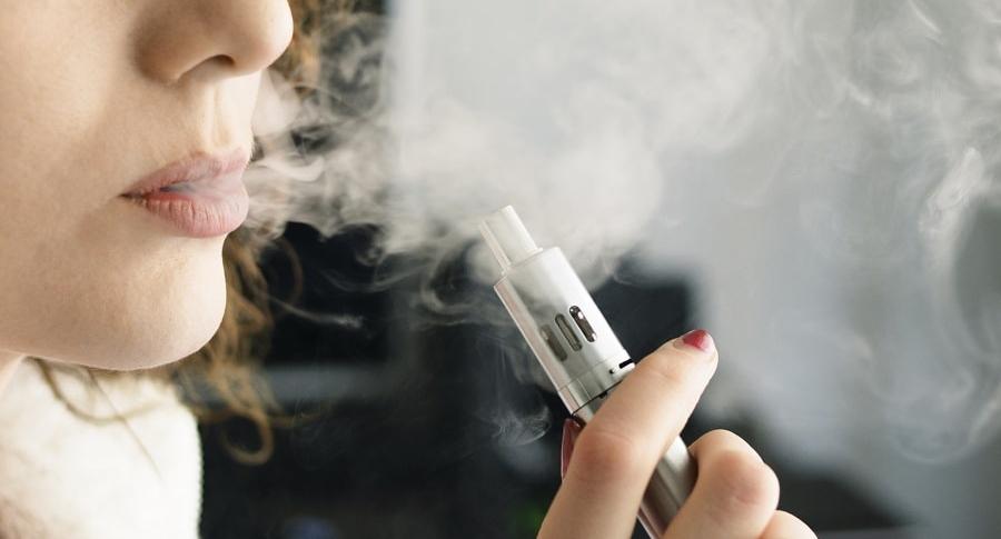 Cigarrillo electrónico o vapeador