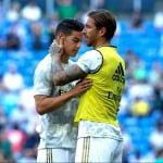 Sergio Ramos y James Rodríguez