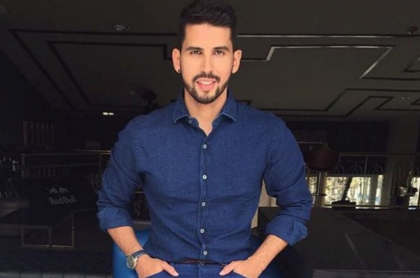 Brian Moreno, actor colombiano.