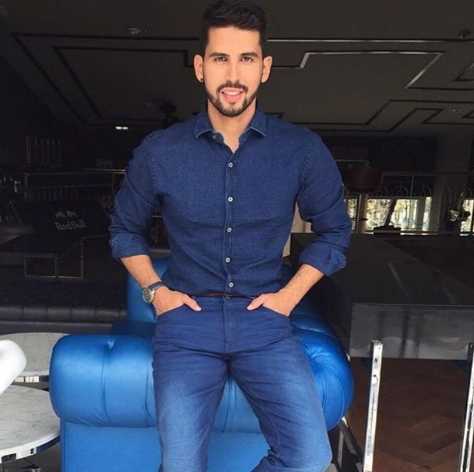 Brian Moreno, actor colombiano.