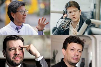 Candidatos alcaldía de Bogotá