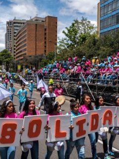 ¡Ojo! Cierres viales y cambios en Transmilenio por 'Caminata de la Solidaridad'