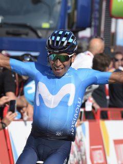 ¡Fiesta colombiana en la Vuelta! Nairo gana la segunda etapa y se mete en el podio