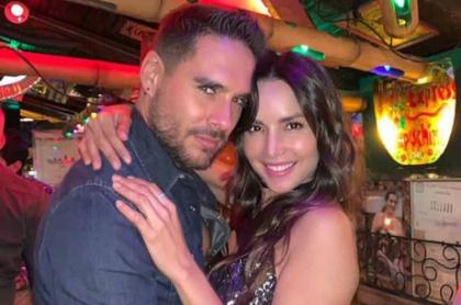 Sebastián Caicedo y Carmen Villalobos.