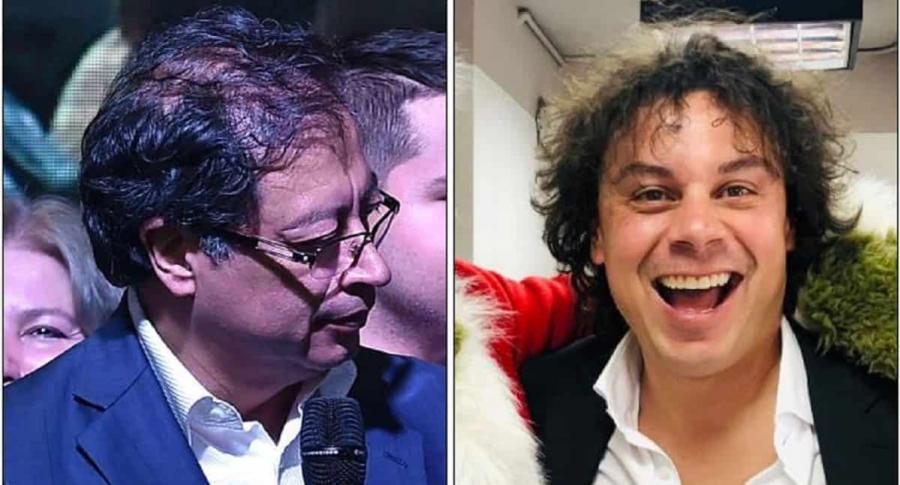 Gustavo Petro y Hassan Nassar