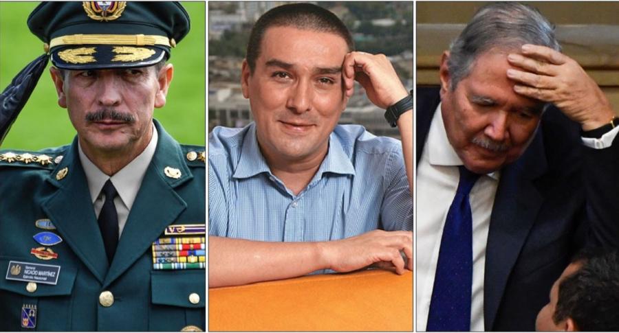 General Nicacio Martínez, 'Matador' y Guillermo Botero