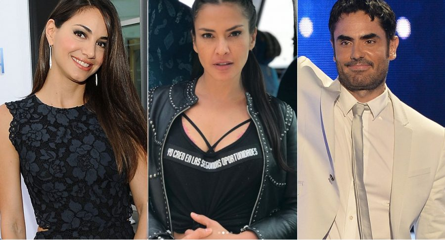 Valerie Domínguez, exreina; Katherine Porto, actriz; y Lincoln Palomeque, actor.